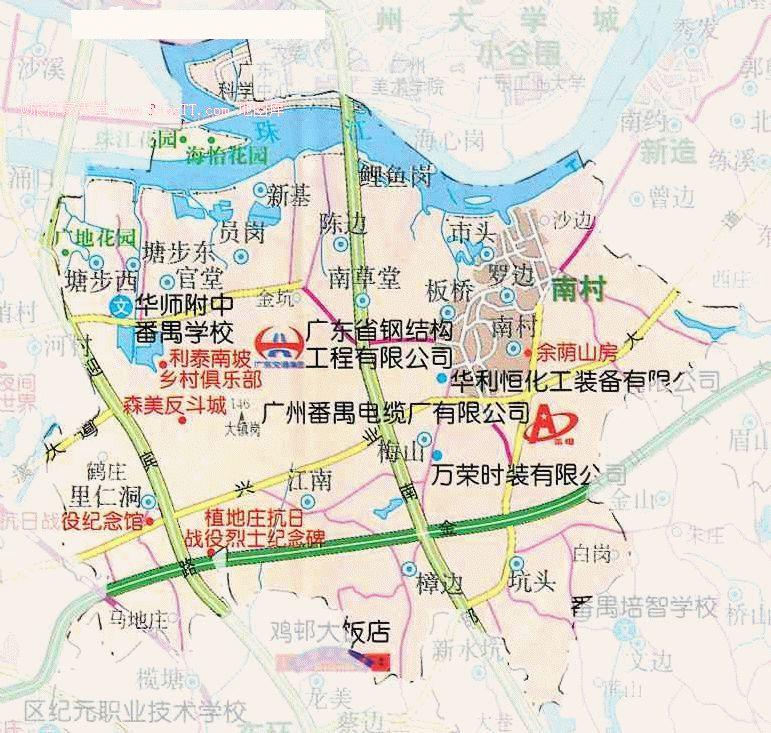 晋城市南村镇地图