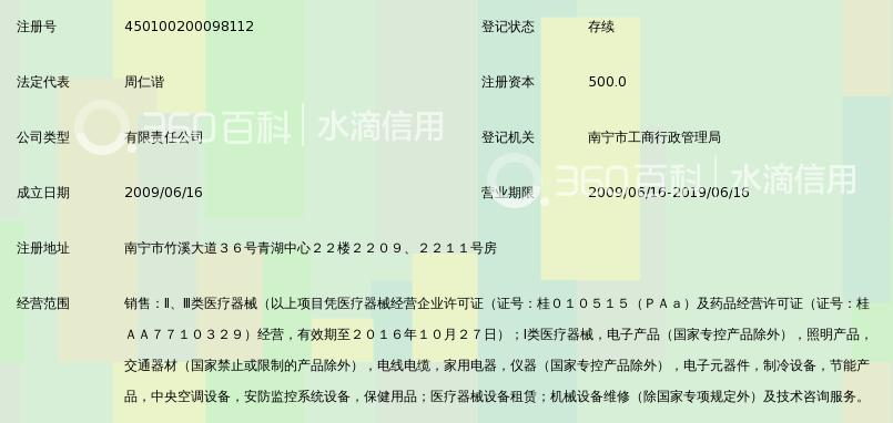 广西润生医疗设备有限责任_360百科亚克力展架海报图片