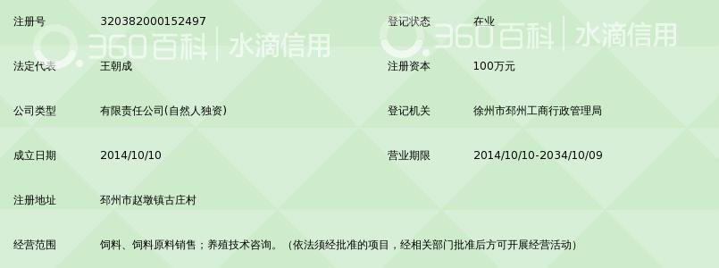 徐州大成饲料销售有限公司