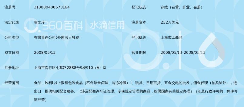 上海勇盈贸易有限公司