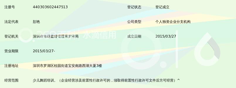 深圳市萱梓小罗湖少儿分部培训部荷花性感_3血美女舞蹈吸的图片