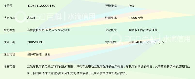 洛阳大运三轮摩托车有限公司_360百科