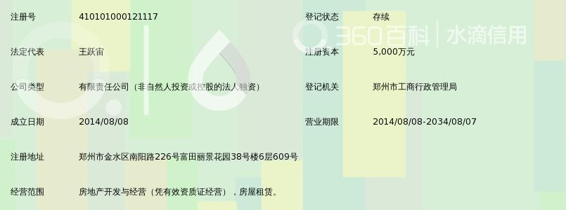 郑州新和润置业有限公司_360百科